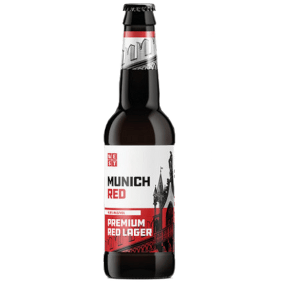 WEST Munich Red 12x330ml The Beer Town Beer Shop Buy Beer Online