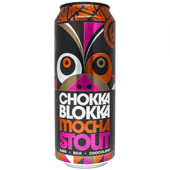 Williams Bros. Brewing Co. Chokka Blokka Mocha Stout 12x500ml The Beer Town Beer Shop Buy Beer Online