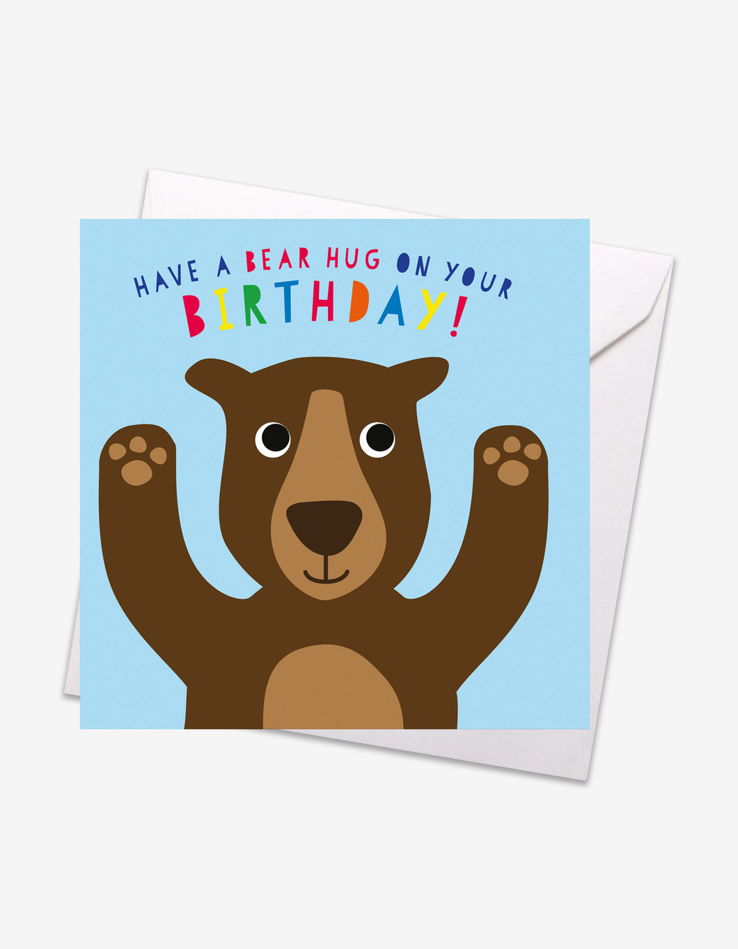 Bear Hug Birthday Card