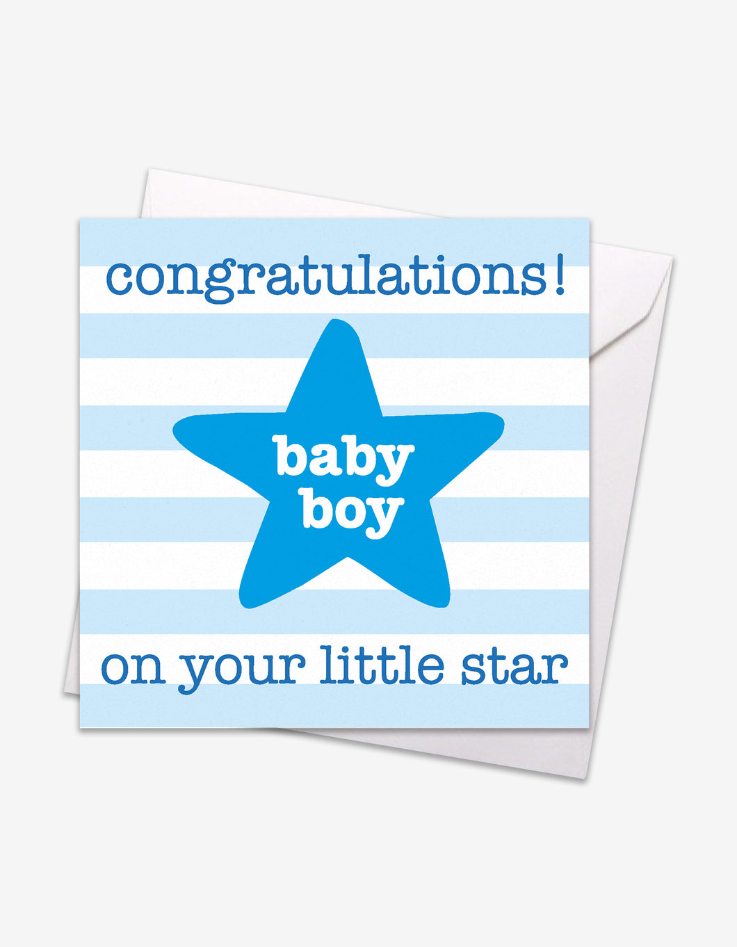 Blue Star Baby Card