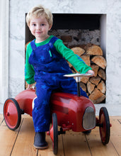 Load image into Gallery viewer, Blue Star Cord Dungarees