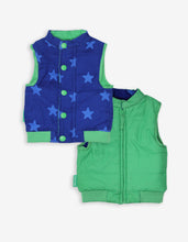 Load image into Gallery viewer, Blue Star Cord Gilet