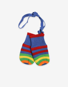 Bold Boy Knitted Mittens