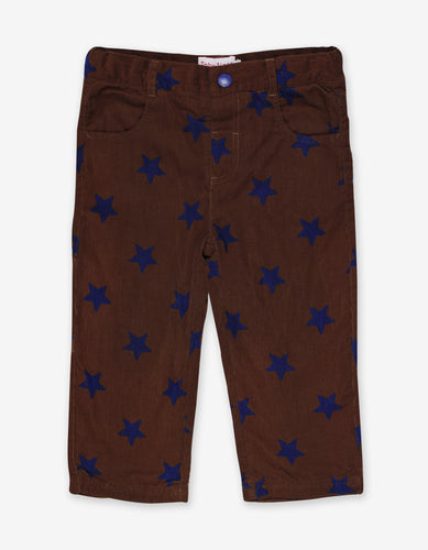 Brown Star Cord Trousers