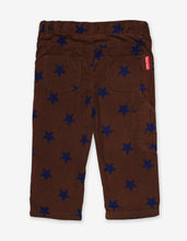Load image into Gallery viewer, Brown Star Cord Trousers