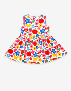 Butterfly Flower Print Party Dress