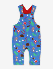 Load image into Gallery viewer, Organic Woodland Print Dungarees