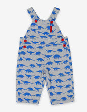 Load image into Gallery viewer, Dinosaur Twill Dungarees