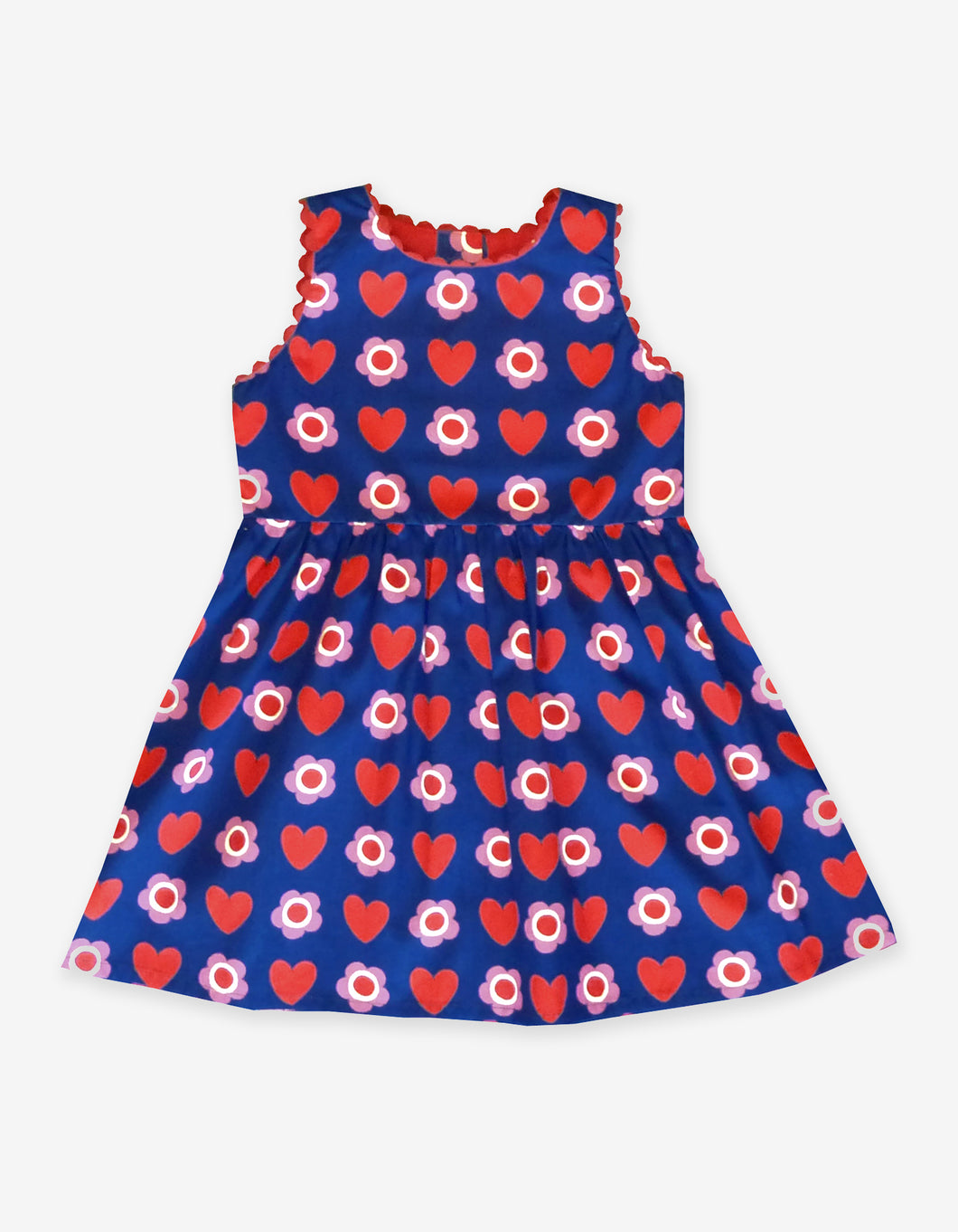 Heart Flower Party Dress
