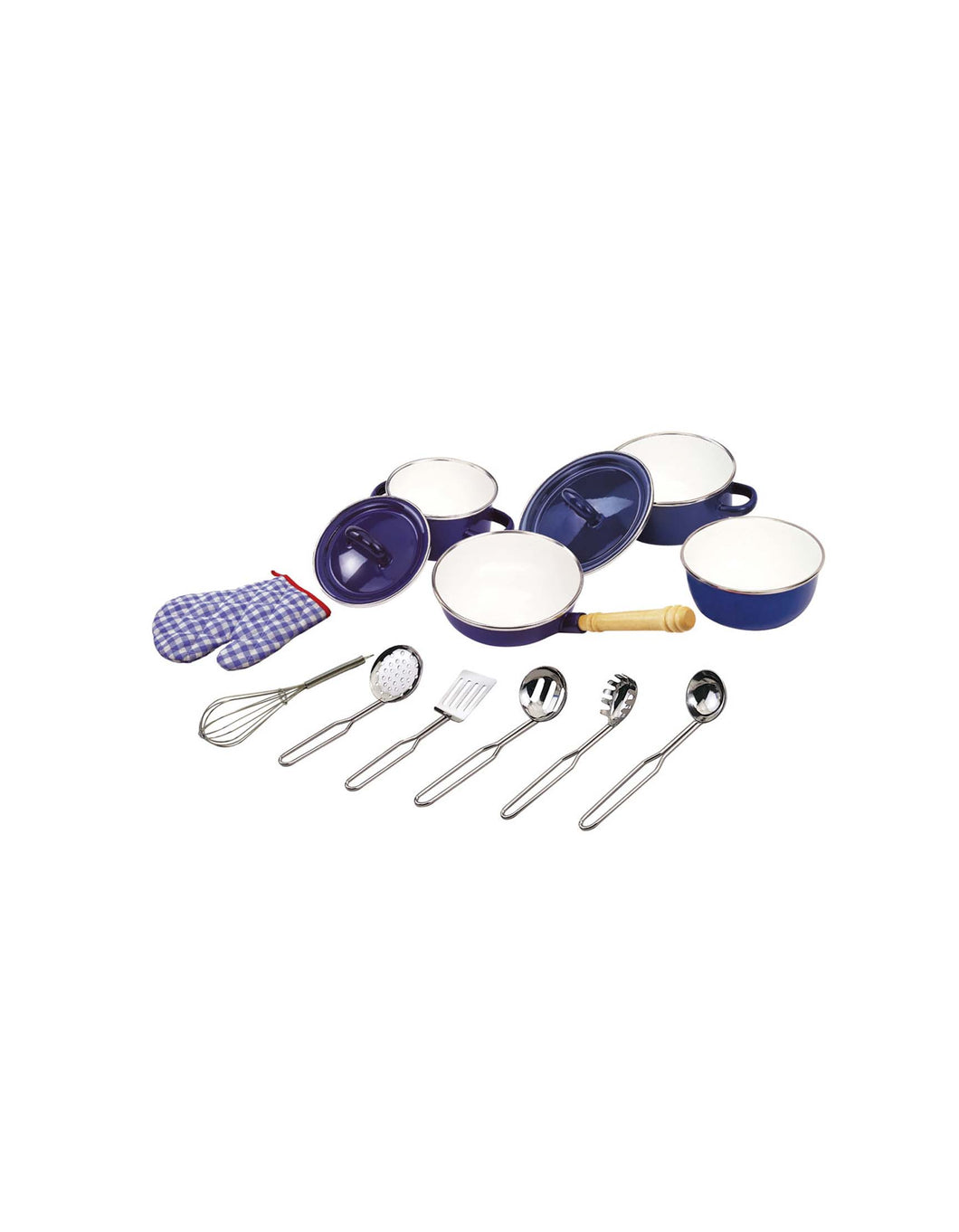 Kitchenware Set in Blue