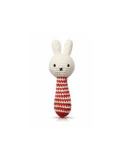 Miffy Red Stripe Rattle