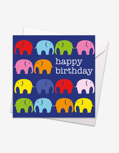 Multi Elly Birthday Card