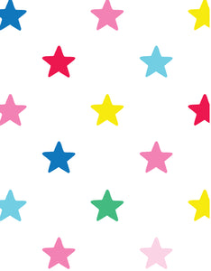 Multi Star Wrapping Paper