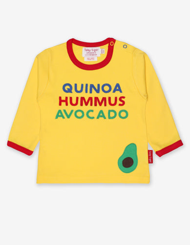 Organic Avocado Applique T-Shirt