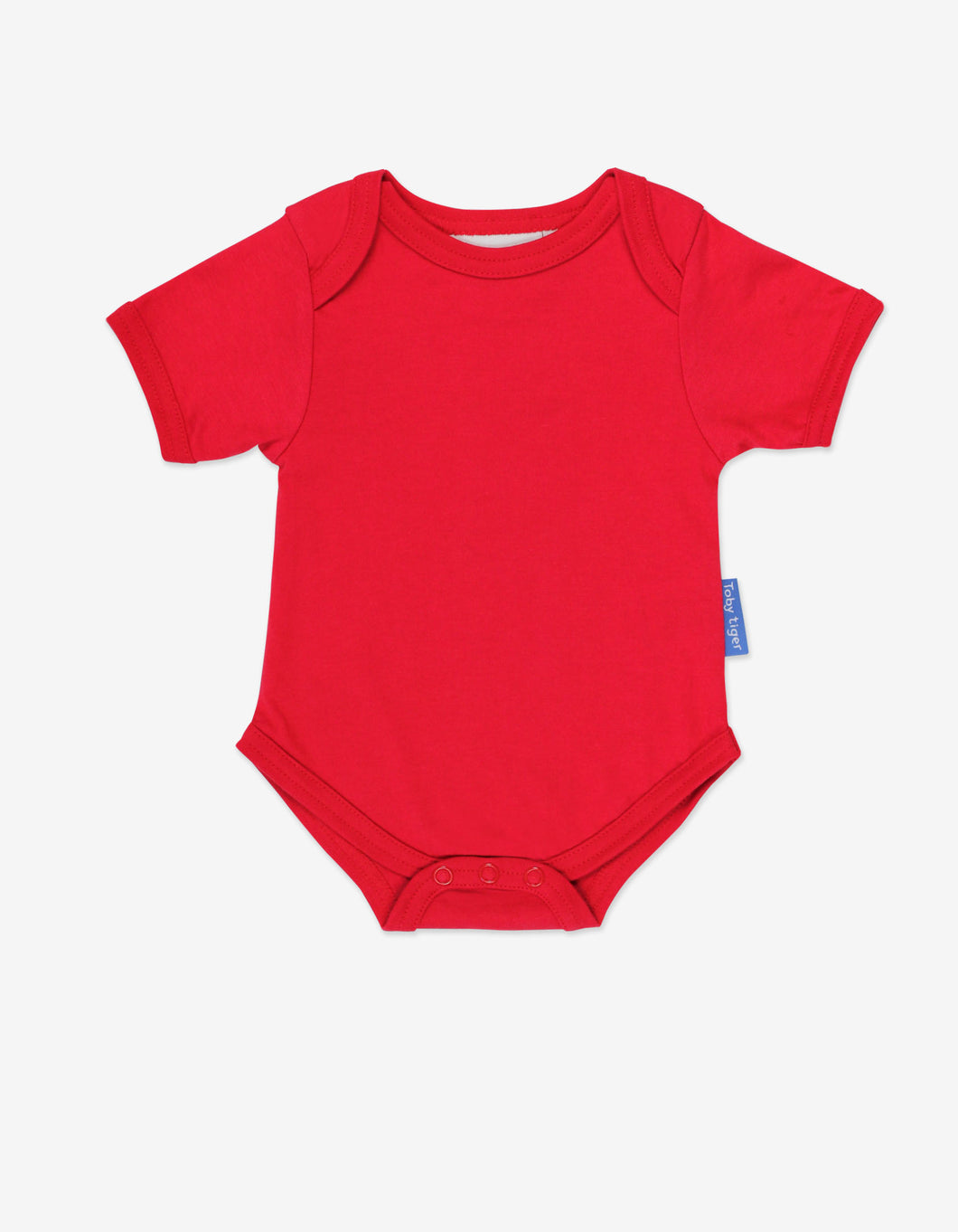 Organic Red Basic Baby Body