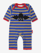 Load image into Gallery viewer, Organic Bat Applique Sleepsuit