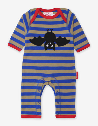 Organic Bat Applique Sleepsuit