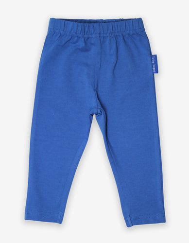Organic Blue Basic Leggings