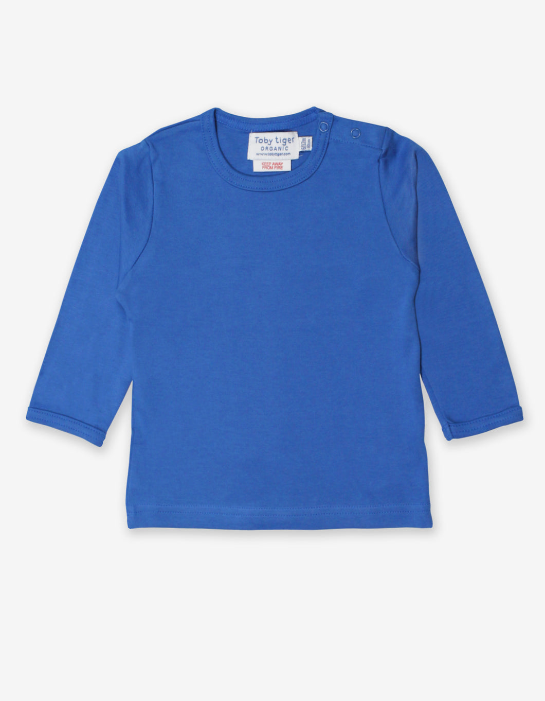 Organic Blue Basic T-Shirt