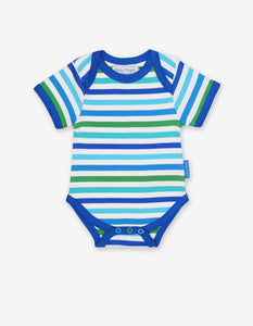 Organic Blue Multi Stripe 2-Pack Body