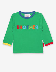 Organic Brother Applique T-Shirt