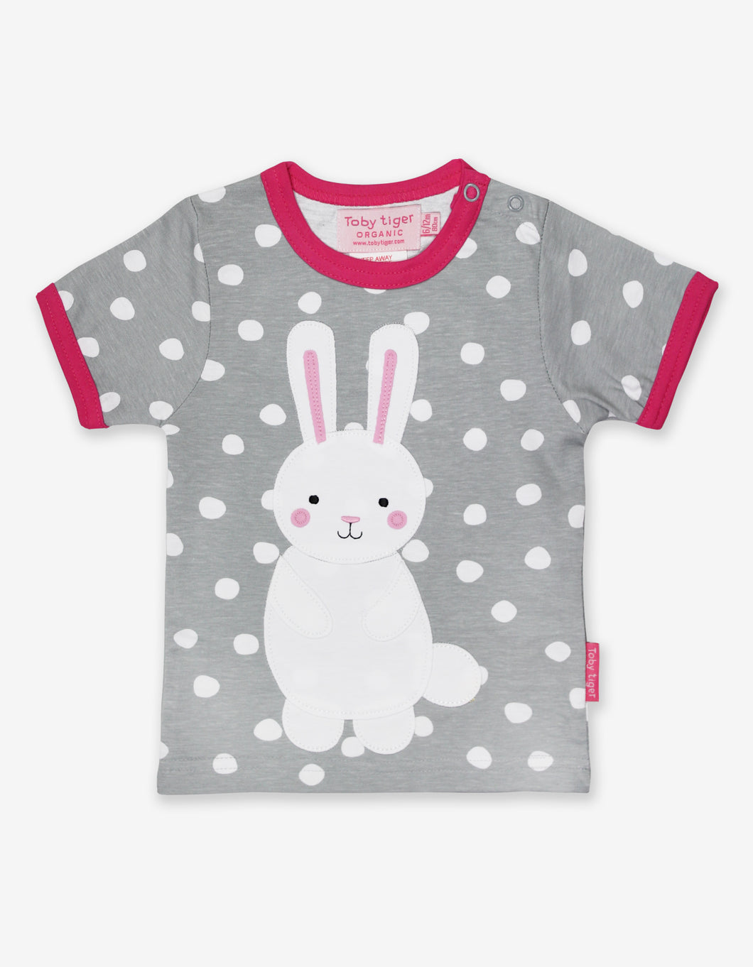 Organic Bunny Applique T-Shirt