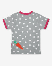 Load image into Gallery viewer, Organic Bunny Applique T-Shirt