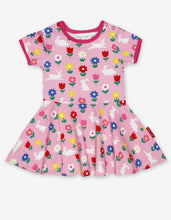 Load image into Gallery viewer, Organic Bunny Print Skater Dress