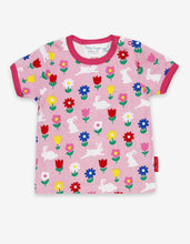 Load image into Gallery viewer, Organic Bunny Print T-Shirt