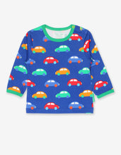Load image into Gallery viewer, Organic Car Print T-Shirt