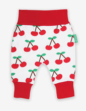 Load image into Gallery viewer, Organic Cherry Print Yoga Pants