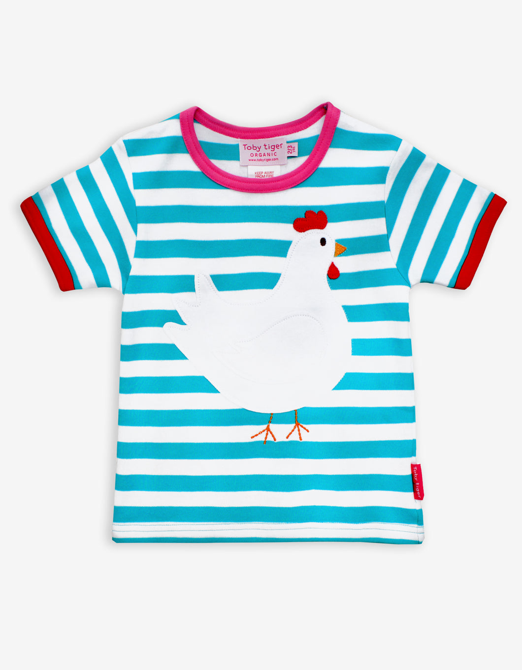 Organic Chicken Applique T-Shirt