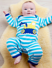 Load image into Gallery viewer, Organic Digger Applique Sleepsuit
