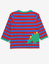Load image into Gallery viewer, Organic Dino Applique T-Shirt