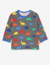 Load image into Gallery viewer, Organic Dinosaur Print T-Shirt