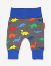 Load image into Gallery viewer, Organic Dinosaur Print Yoga Pants