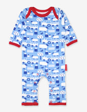 Load image into Gallery viewer, Organic Farm Print Sleepsuit
