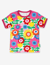 Load image into Gallery viewer, Organic Flower Power T-Shirt