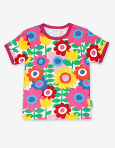 Organic Flower Power T-Shirt
