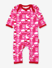 Load image into Gallery viewer, Organic Garden Print Sleepsuit