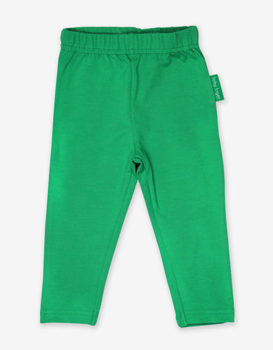 Organic Green Basic Leggings