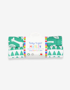 Organic Green Jungle 2-Pack Muslins