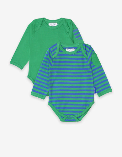 Organic Green Stripe 2-Pack Body