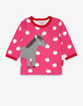 Load image into Gallery viewer, Organic Horse Applique T-Shirt