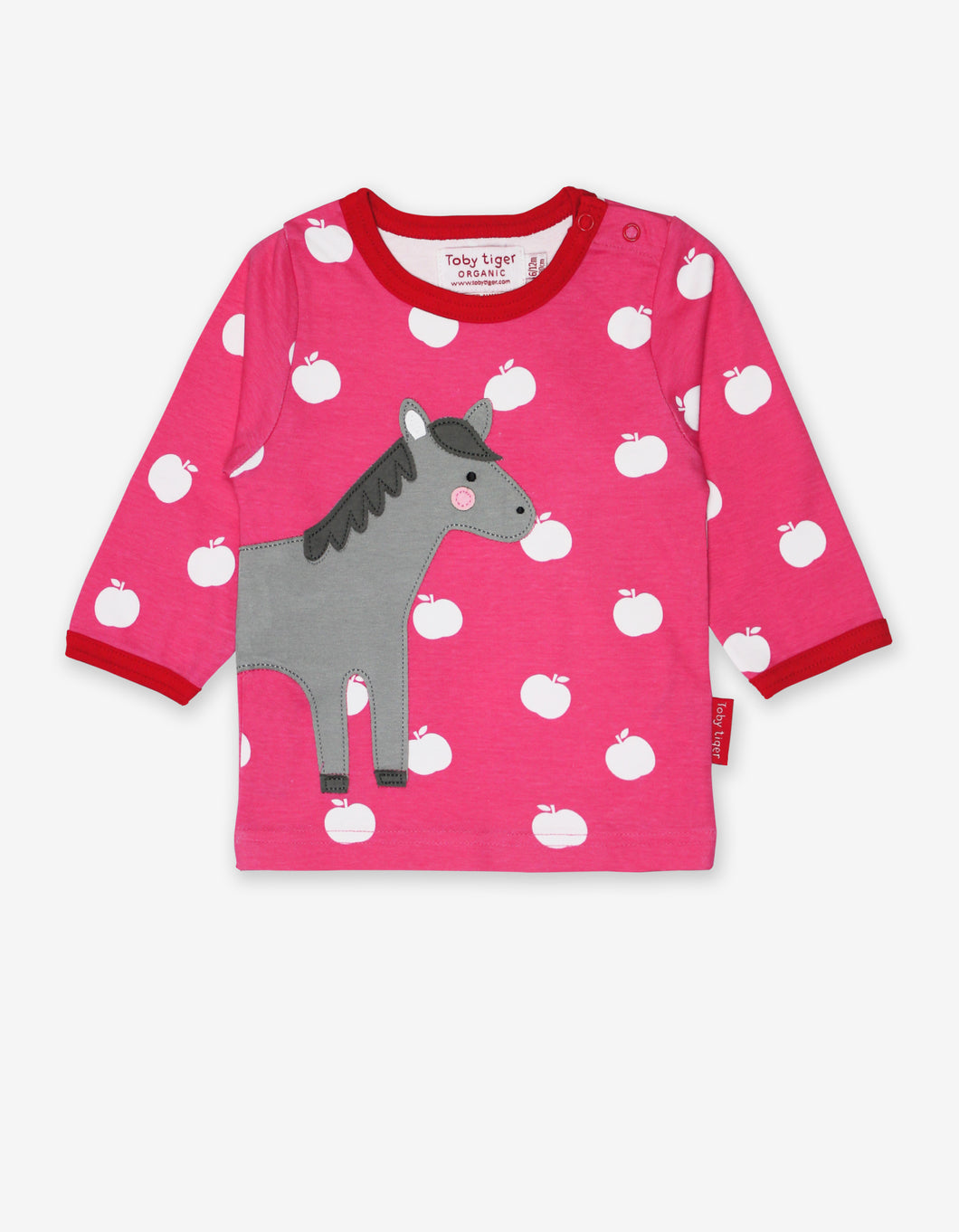 Organic Horse Applique T-Shirt