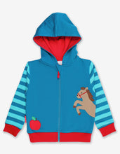 Load image into Gallery viewer, Organic Jumping Horse Applique Hoodie