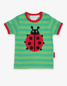 Organic Ladybird Applique T-Shirt