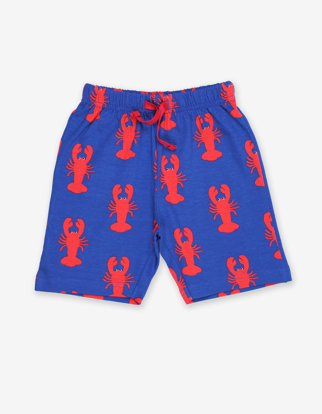 Organic Lobster Print Shorts