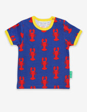 Load image into Gallery viewer, Organic Lobster Print T-Shirt