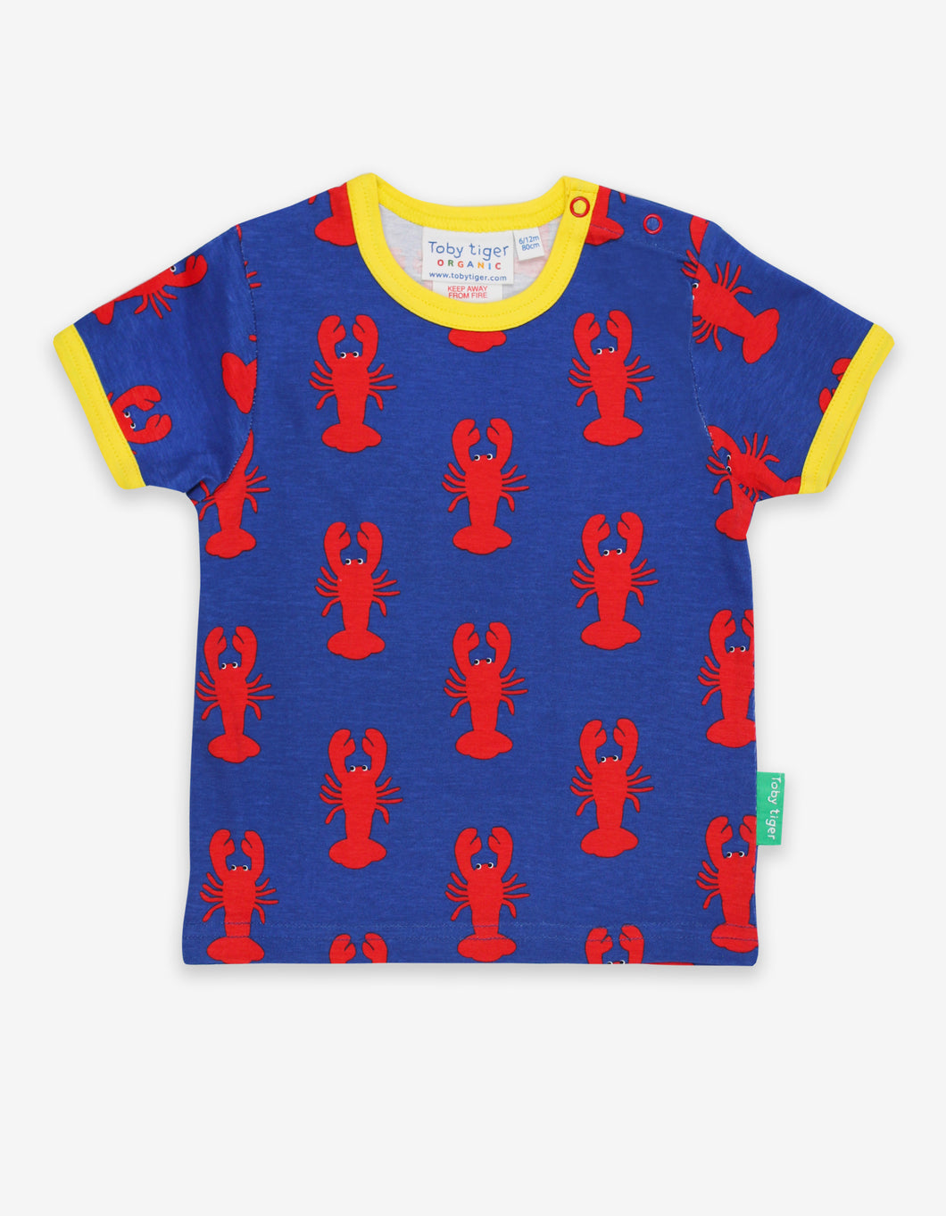 Organic Lobster Print T-Shirt